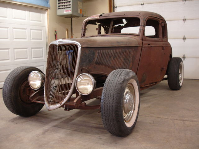 1933 1934 ford steel henry 5 window coupe project hot rod for 1934 ford coupe 5 window for sale