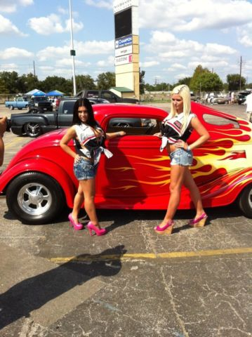 1933 Ford 3 Window Coupe Streetrod Custom Paint And
