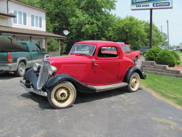 1933 ford 3 window deluxe coupe for sale in marine city for 1933 ford 3 window