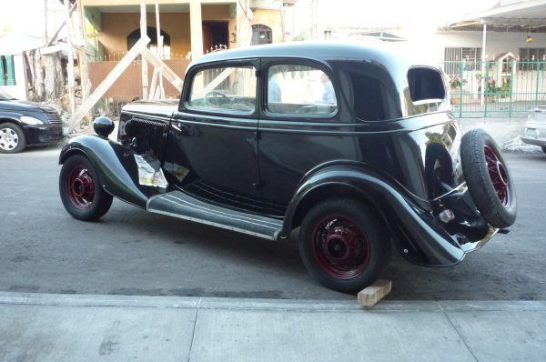 1933 Ford Victoria 740 4cyl Original Henry Ford Steel Very