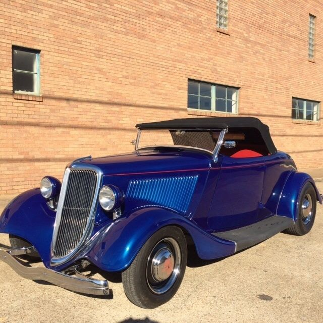 1934 33 Ford Roadster All Henry Ford Steel For Sale In