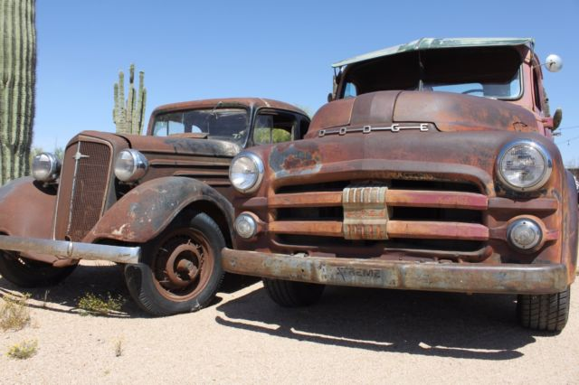 1934 Chevrolet 1953 Dodge All Original Patina Hot Rods Rat