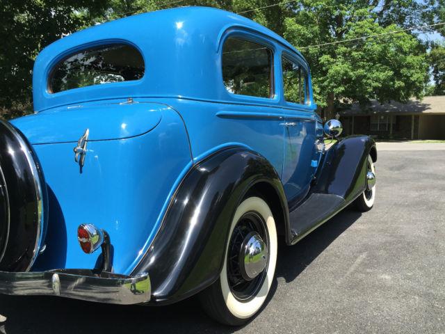 1934 Chevrolet Master 2door sedan - NICE ! Restored - Very