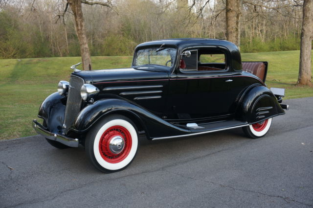 1934 Chevrolet Master 3 Window Coupe All Steel Original