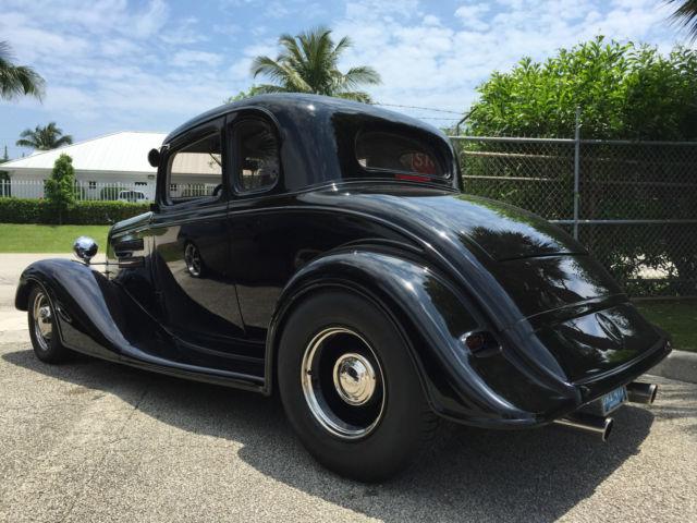 1934 Chevrolet Master 5 Window Coupe, Street Rod, 383