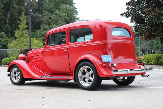 1934 Chevy Ford 2 Door Sedan Real Steel Body For Sale In