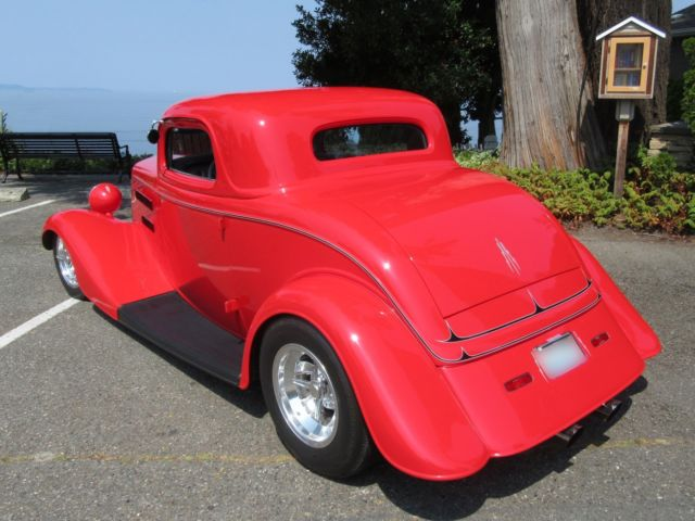 1934 ford 3 window coupe original henry ford steel body for 1934 ford 3 window coupe steel body