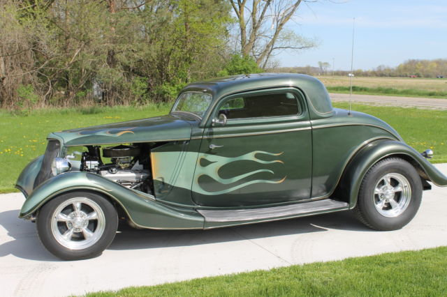 1934 ford 3 window coupe street rod custom for 1934 ford 3 window coupe custom
