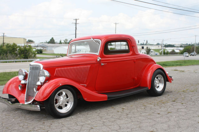 1934 ford all steel 3 window coupe for sale in mount for 1934 ford three window coupe for sale