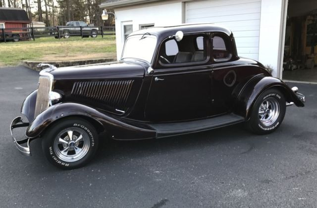 1934 ford coupe real steel body 351 v8 w auto trans for 1934 ford 3 window coupe steel body
