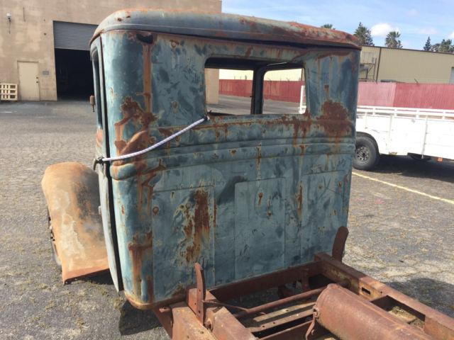 1934 Ford Pickup Truck 1 Ton W Hydraulic Dump Set Up