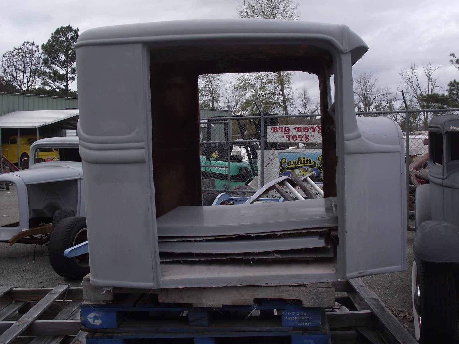 1934 ford pickup truck fiberglass replica body with extended cab and doors for sale in valdosta. Black Bedroom Furniture Sets. Home Design Ideas