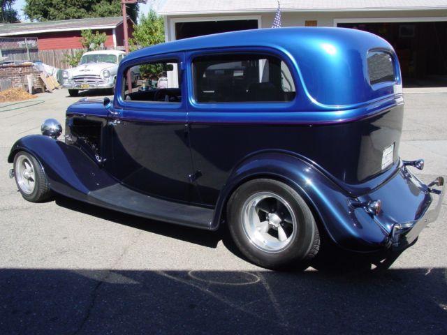 1934 ford two door sedan street rod all steel for 1934 ford two door sedan