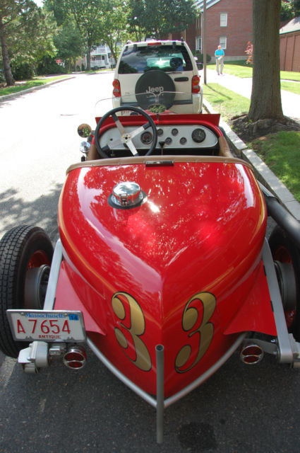 1934 Indy Racer Street Legal Open Wheel Boattail Roadster