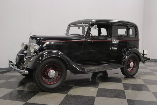 1934 Plymouth Pfxx 4 Door Sedan Sedan Flat Head 6 Cyl 3