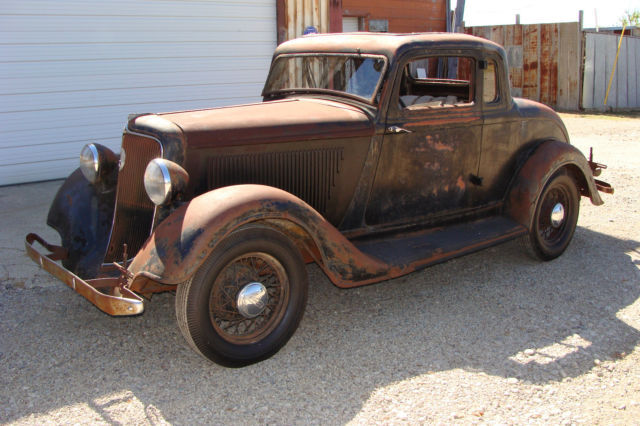 1934 plymouth pg coupe 5 window project fast n loud for for 1934 5 window coupe for sale