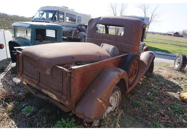 Old Ford Truck Parts : Ford truck rat rod parts custom street patina