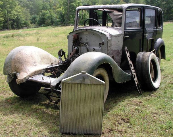 1935 Rolls Royce 20 25 J2 Series Parts Car Barn Find As