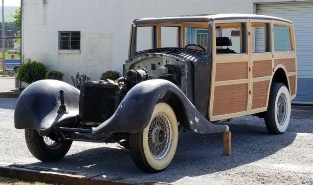 1935 Rolls-Royce Phantom II Woodie Wagon Project - One Of ...