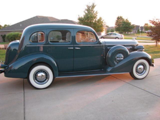 1936 buick century 4 door sedan