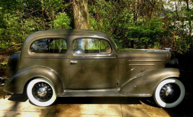 1936 chevrolet 2 door standard fc for 1936 chevy 4 door