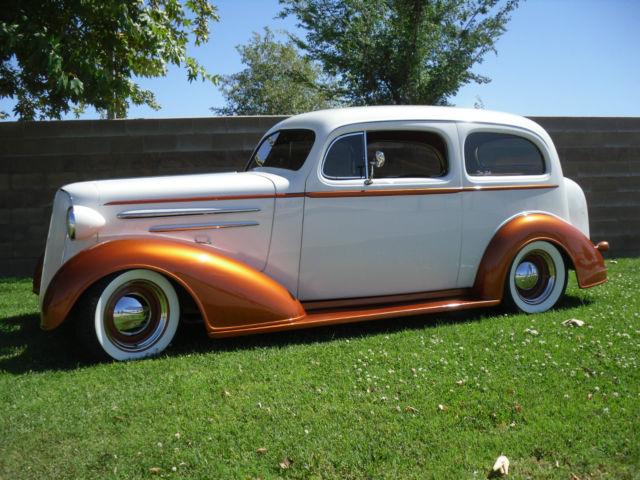 1936 Chevrolet Master Two Door Sedan Street Rod Custom Hot