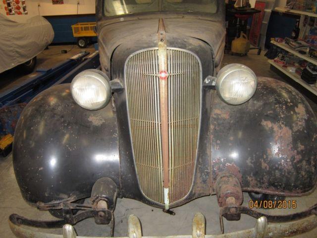 1936 chevrolet standard 2 door humpback trunk project 6 cylinder car for sale in gaithersburg. Black Bedroom Furniture Sets. Home Design Ideas