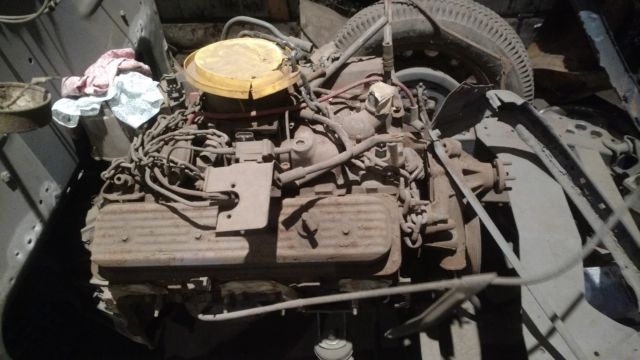 1936 Chevrolet Tudor Restoration Project W Orig Engine