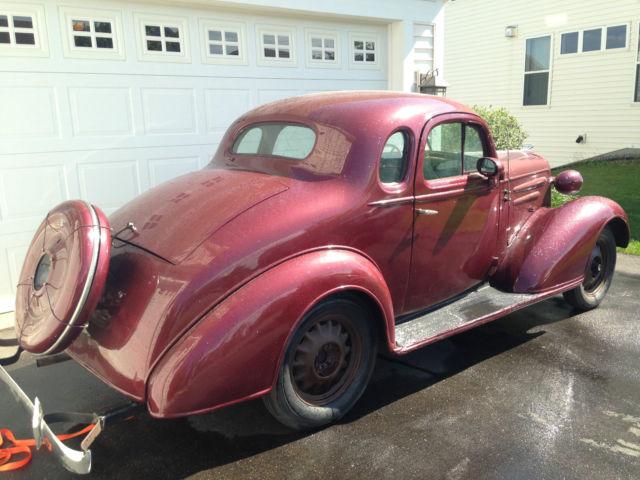 1936 Chevrolet Chevy Business Coupe 5 Window Master Deluxe