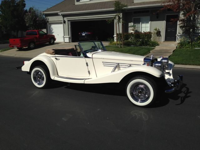 1936 Mercedes Benz Marlene Roadster Replica For Sale In