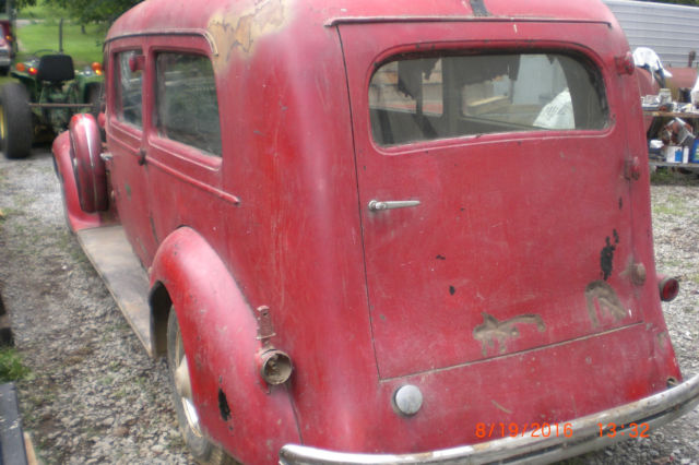 Used Hearse For Sale >> 1936 Packard Henney Hearse for sale: photos, technical ...
