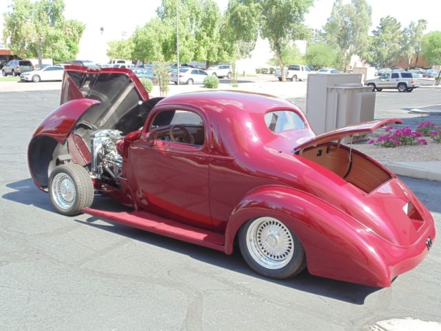1936 Pontiac All Steel Custom Street Rod Three Window Coupe