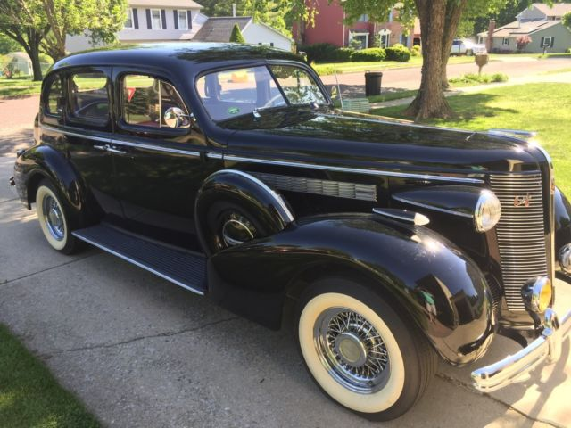 1937 Buick Special Series 40 Black With Tan Interior