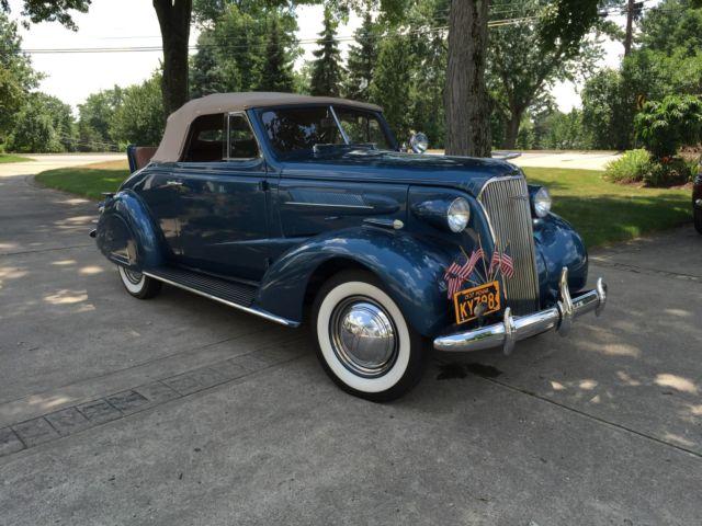 1937 Chevrolet Cabriolet Convertible