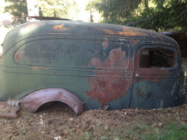 1937 Chevrolet Panel Delivery Chevy Truck 37 1 2 Ton