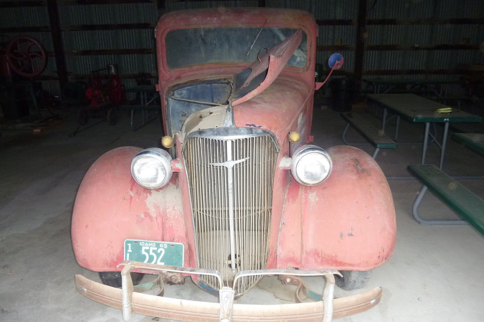 1937 CHEVY PICKUP ANTIQUE TRUCK VINTAGE BARN FIND. for ...