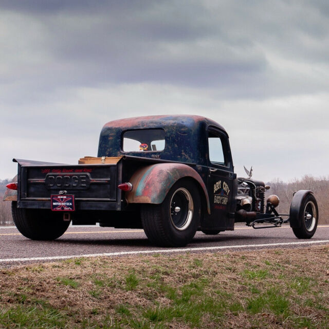 1937 Dodge Custom Rat Rod Pickup for sale: photos, technical