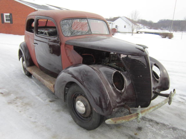 1937 ford 2 door sedan model 74 hot rat street rod for sale in paris ohio united states for 1937 ford two door sedan