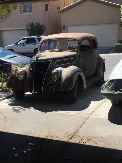 1937 ford 2 door sedan slant back barn find 37 32 1932 for 1937 ford 2 door slant back