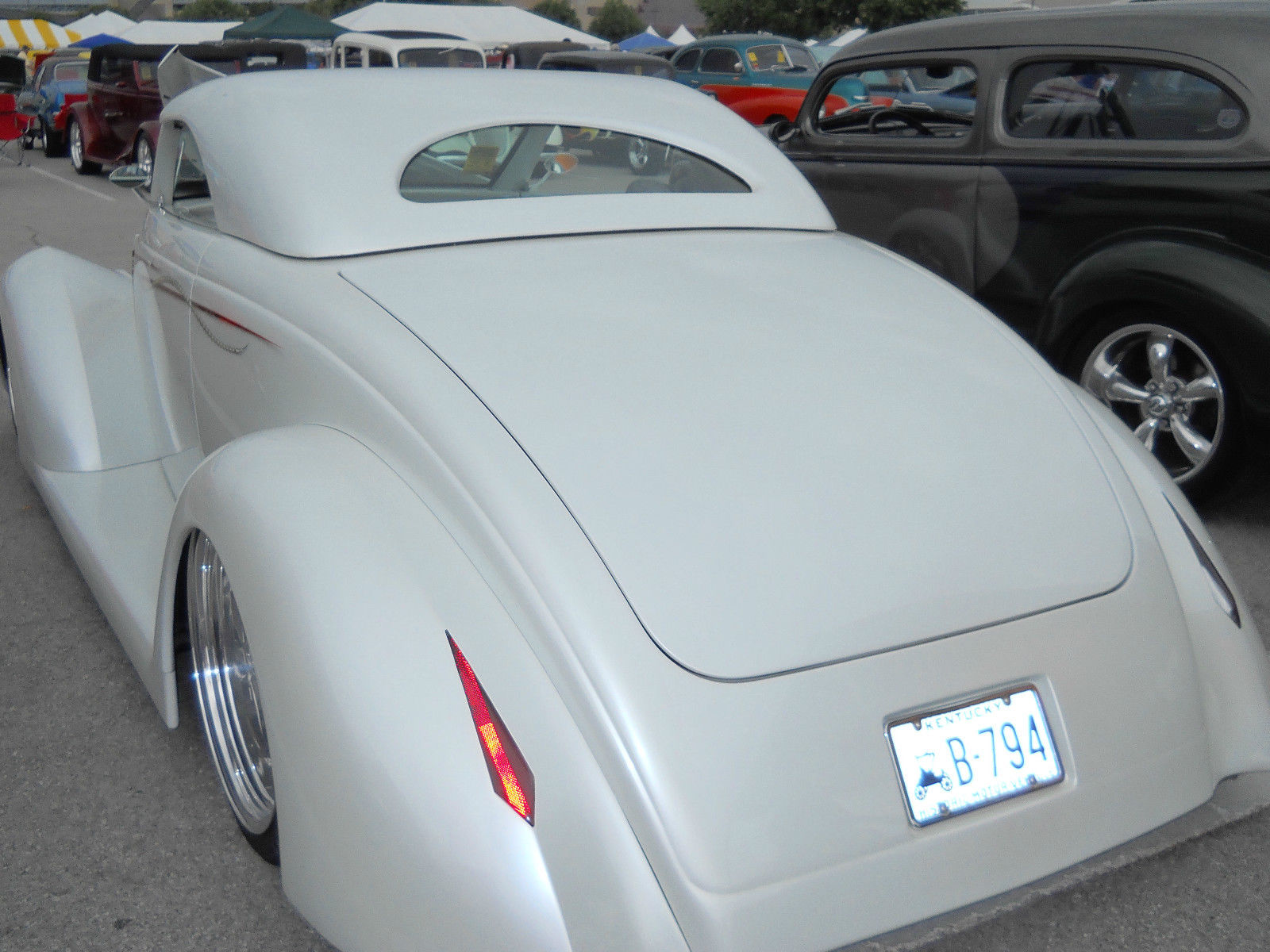 Ford Wild Rod Roadster on For Car Hood Insulation Material