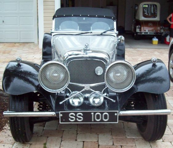 Used Volkswagen Buffalo Ny: 1937 Jaguar Roadster SS100 Kit Car For Sale In The