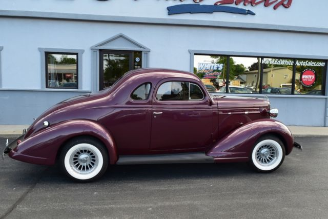 Pay Indiana Sales Tax >> 1937 Nash Lafayette 400 5 Window Coupe Business Coupe for sale: photos, technical specifications ...