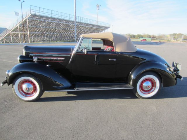 1937 packard 115 c convertible coupe for 1937 packard 3 window coupe