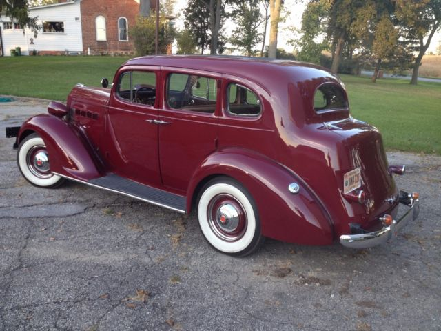 1937 Packard 115 C Touring Car for sale: photos, technical