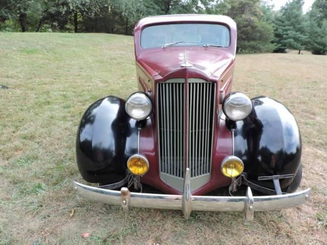 1937 Packard 115C Sedan for sale: photos, technical
