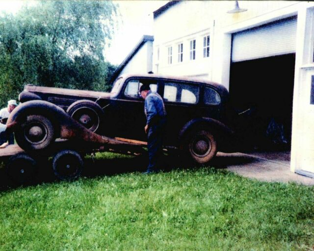 1937 PACKARD CONVERTIBLE RESTO-ROD for sale: photos