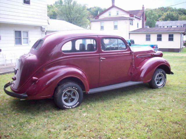 1937 plymouth 2 door sedan chevy v8 350 gasser rat for 1937 chevy 2 door coupe