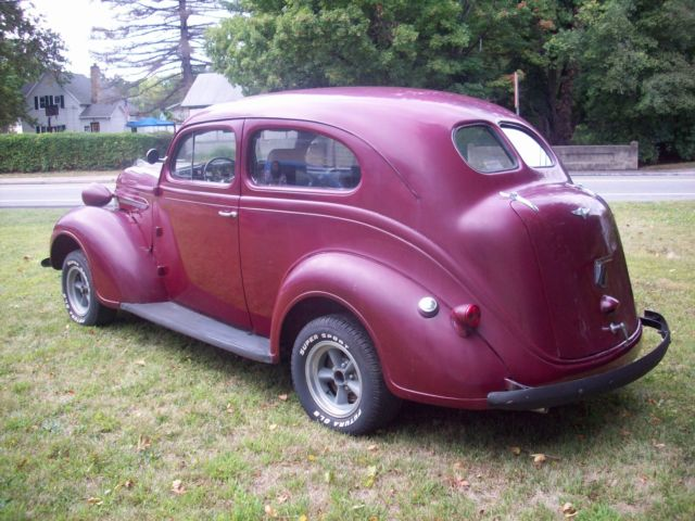 1937 plymouth 2 door sedan chevy v8 350 gasser rat for 1937 chevy 2 door sedan