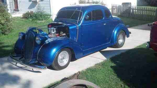 1937 Dodge Coupe Street Rod Project Car For Sale: 1937 Plymouth Coupe Streetrod Turn Key Car 406 Sbc Hot Rod