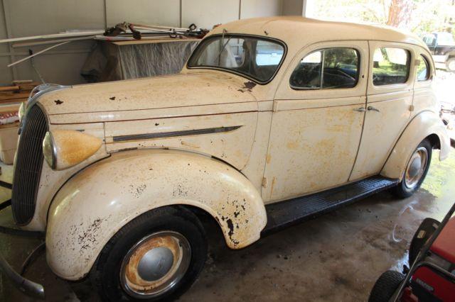 1937 Plymouth P4 Deluxe 1935 1936 1938 Rat Rod Dodge